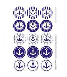 Etiquetas imprimibles diseño Marinero, exclusivas y gratuitas para nuestras clientas. www.monamonina.com