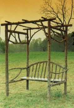 good tips on makeing rustic garden structures