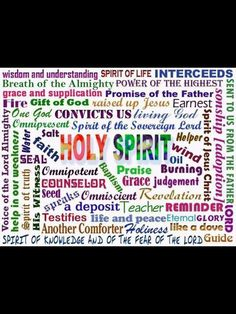 Holy Spirit, You will preside there, night and day, and be all of these to Us for You are the Holy One Christian Life, Christian Quotes, Holy Spirit Come, Walk By Faith, Power Of Prayer, Jesus Cristo, God Jesus, Spiritual Inspiration, Christian Inspiration