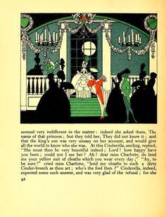 Cendrillon entre dans la salle de bal. (John Austen, 1922)