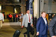 Arrivals: Texans at Patriots