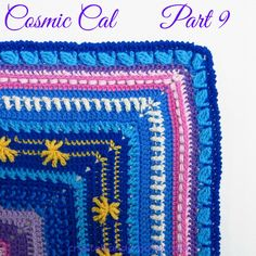 Cosmic Cal Part 9 - Crystals & Crochet