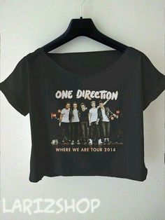 one direction crop top. One Direction Merch, One Direction Outfits, One Direction Pictures, I Love One Direction, One Direction Accessories, Where We Are Tour, 1d And 5sos, Teen Fashion, Latest Fashion