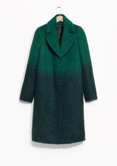 & Other Stories | Gradient Wool-Blend Coat $275