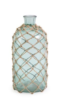 Floor vase option (comes in a few sizes): IMAX Home 71703 Cornell Medium Jug with Rope at LightingDirect.com.