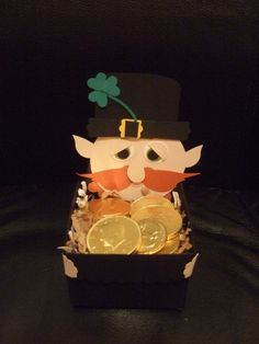 Stampin' Up!  Bird Punch  Cameron Clement  Leprechaun