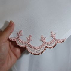 Nailing a Corner - The Avid Embroiderer