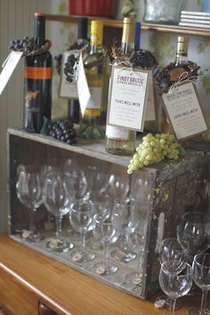 wine themed bridal shower With a Winery in the Shoppes, this is a great Bridal Shower idea for the Opera House  » Yellow Suitcase Studio