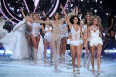 El gran final del desfile 2013 de Victoria's Secret