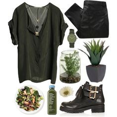 leaf house., created by cauchemar-exquis on Polyvore