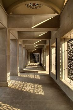 Courtyard of Sakirin Mosque in Istanbul, Turkey. Architect: Hüsrev Tayla - Inspiration for University Campus in Middle East by SI architects - Inspiration for Campus University in Middle East by SI Architects