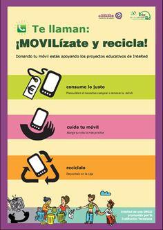 Reciclar el móvil. ¡MOVILízate!