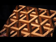 (Link in bio) End Grain Cutting Board Tessellation build video is out. Marc and I also put together a 2 hour long form class for this one. Link in description of the build video. This was seriously one of the most fun projects Ive ever built! Woodworking Joints, Woodworking Skills, End Grain Cutting Board, Cutting Boards, Router Plate, Router Setting, Fret Saw, Dovetail Jig