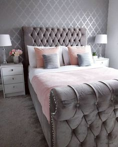 54 Best Blush Pink And Grey Bedroom images in 2018 | Future house ...