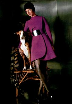Carven L'Officiel magazine 1970.