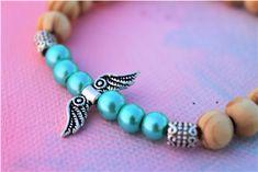 Bracelet- Angel Pandora Charms, Turquoise Bracelet, Beaded Bracelets, Angel, Photo And Video, Jewelry, Instagram, Products, Jewlery