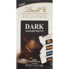 Lindt Excellence Dark Assortment Chocolate