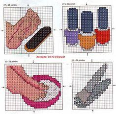 Ângela Bordados: Para presentear nossa manicure...uma idéia legal n...