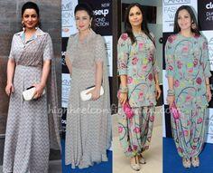 tisca-chopra-maria-goretti-payal-singhal-lakme-fashion-week-2014 Love the print on Maria goretti