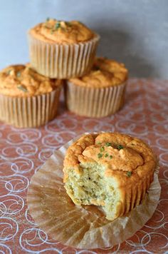 You are what you eat!: Savory lentil muffins