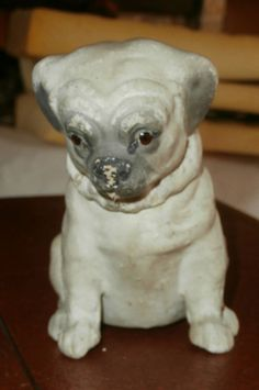 estate sale / ext  RAREadorable  candy  container   DOG  c 1920,s Germany