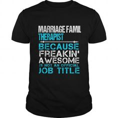 I Love  MARRIAGE FAMILY_THERAPIST Shirts & Tees
