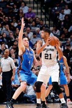 Thunder at Spurs - April 12, 2016