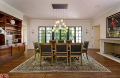 Dining rooms are one