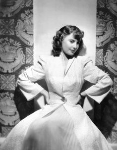 Barbara Stanwyck, 1941, in a gown by Edith Head Stanwyck made four films in 1941. Three of them are classics: Ball of Fire, The Lady Eve, Meet John Doe
