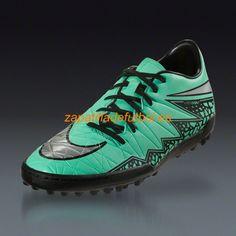 purchase cheap 803d7 c3a86 Barato Zapatos soccer Sala Nike Hypervenom Phelon II TF Turf Resplandor  Verde Metalico De Plata Hyper Naranja Negro