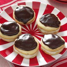 Boston Cream Pie Cookies Recipe