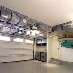 Great Gifts For Busy Moms Garage Ceiling StorageGarage Hanging StorageStorage Ideas