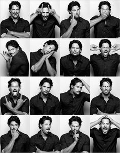 Actor Joe Manganiello is photographed for Flaunt Magazine on August 2011 in Los Angeles, California. Get premium, high resolution news photos at Getty Images Portrait Photography Poses, Face Expressions, Foto Pose, Alexander Skarsgard, Pose Reference, Gorgeous Men, Handsome, Photoshoot, Actors