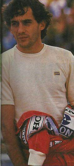 Ayrton Senna - McLaren.#jorgenca