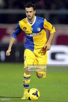 Raffaele Palladino of Parma FC in action during the Serie A match between AS Livorno Calcio and Parma FC at Stadio Armando Picchi on January 11 2014...