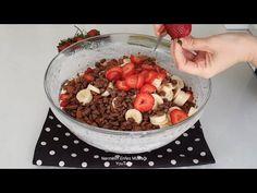 😱Ramazan Ayına Özel Serin Meyveli Pasta Pişirme Yok🥰🥰 - YouTube Oatmeal, Make It Yourself, Breakfast, Food, Whipped Cream, The Oatmeal, Morning Coffee, Rolled Oats, Essen