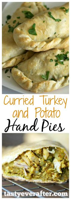 Easy Curried Turkey Hand Pies With Potatoes - Tasty Ever After