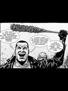 The Walking Dead has just cast its Negan - here's how we'll change the DNA of the show Walking Dead Comic Book, Walking Dead Characters, Walking Dead Comics, Walking Dead Series, Fear The Walking Dead, Comic Character, Character Design, Twd Comics, Daryl And Rick