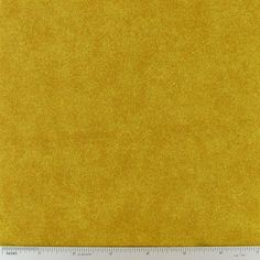 Mustard Muted Print Cotton Calico Fabric