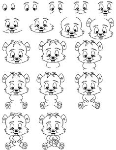 Bear Cub - Hundreds of drawing tutorials