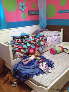 DIY: American Girl Doll Bed