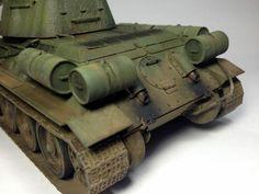 "T34/85 - ""Rudy"" 102 - From Polish army 1:35 - by Daz"