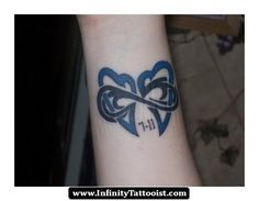two hearts infinity tattoo 06 - http://infinitytattooist.com/two-hearts-infinity-tattoo-06/