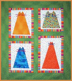 cat quilt patterns  http://www.simplicity.com/t-free-quilt-patterns-Fat-Cats-Quilt.aspx
