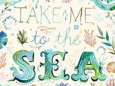Eu vou vestir o mar, vou me fingir de peixe...