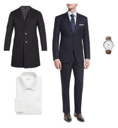 """5.Зевс"" by kerrigrand on Polyvore featuring Brioni, Georg Jensen, men's fashion и menswear"