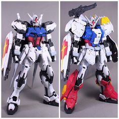Gundam Wing, Gundam Art, Mecha Suit, Strike Gundam, Gundam Custom Build, Cool Robots, Gundam Seed, Gunpla Custom, Mecha Anime