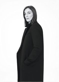 Phoebe Philo CELINE 2011 Photography by Willy Vanderperre Styled by Jane How Phoebe Philo, Celine Coat, Crombie Coat, Fashion Designer, Runway Models, Look Fashion, Fashion 2018, Style Icons, Supermodels