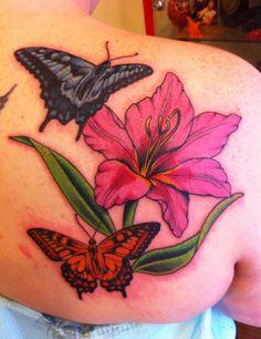 Only a bird and an ant Leaf Tattoos, Fish Tattoos, Tatoos, Gladiolus Tattoo, Ants, Tatting, Bird, My Favorite Things, Fashion