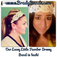 Lacey Little Number dressy headbands only $8